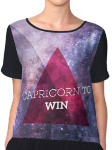 Capricorn To Win Chiffon Top