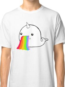 Narwhal Goes Bleh Classic T-Shirt