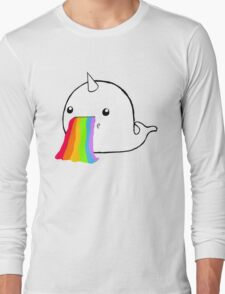 Narwhal Goes Bleh Long Sleeve T-Shirt