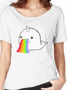 Narwhal Goes Bleh Women's Relaxed Fit T-Shirt