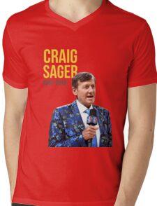Rest In Peace Craig Sager Mens V-Neck T-Shirt