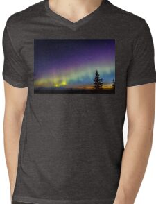 Aurora Sunrising Mens V-Neck T-Shirt