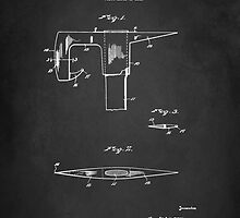 Vintage Firefighter Axe Patent 1925 by Patricia Lintner