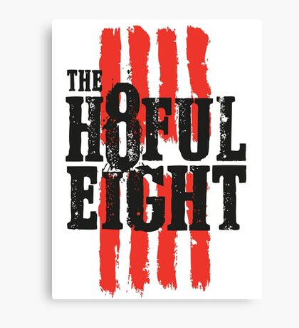 The 8ful eight Canvas Print