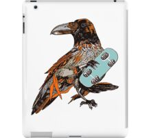 Crow boarding iPad Case/Skin
