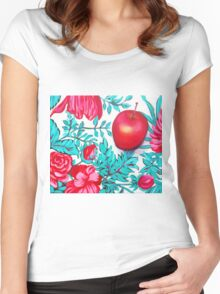 Rosy Apple Women's Fitted Scoop T-Shirt