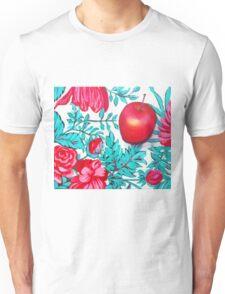 Rosy Apple Unisex T-Shirt