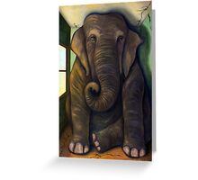 Elephant In The Room Greeting Card