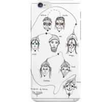 The many faces of nature, in bulk. iPhone Case/Skin