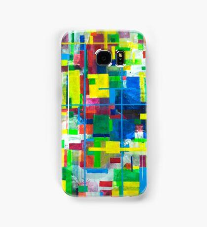 Blocks - Grid Samsung Galaxy Case/Skin
