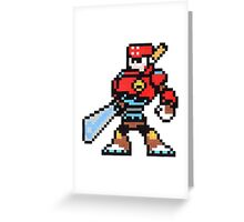 sword man Greeting Card