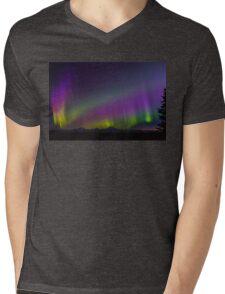 Veil of Stars and Color Mens V-Neck T-Shirt