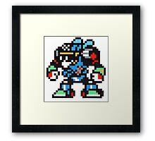 turbo man Framed Print