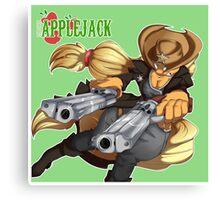 Sheriff Applejack Canvas Print