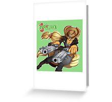 Sheriff Applejack Greeting Card