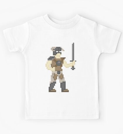 Dragonborn of Pixelrim Kids Tee
