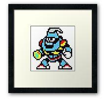 grenade man Framed Print