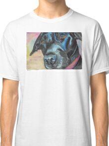 "Little Black Dog (""Korra"" the lab-mix) Classic T-Shirt"