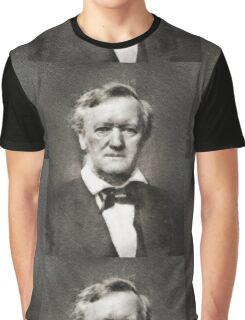 Richard Wagner, Composer Graphic T-Shirt