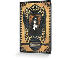 Gothic Masquerade Greeting Card