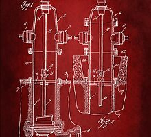 Fire Hydrant Patent 1931 by Patricia Lintner
