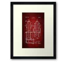 Fire Hydrant Patent 1931 Framed Print