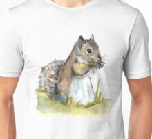 Squirrel Tasting a Flower Unisex T-Shirt