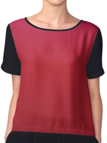 RED GRADIENT Chiffon Top