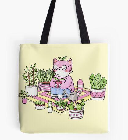 Cacti Meditation Tote Bag
