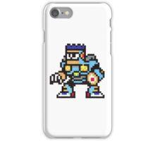 burst man iPhone Case/Skin