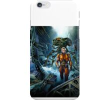 Astronaut and aliens iPhone Case/Skin