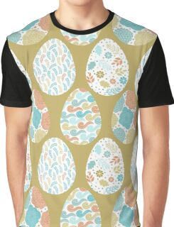 Easter Pattern Graphic T-Shirt