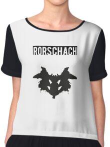 Rorschach Chiffon Top