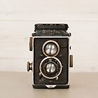 Vintage Rolleiflex Twin Lens camera by Flo Smith