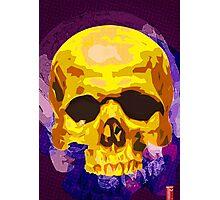 Sour Skull Photographic Print
