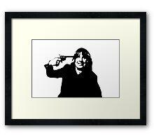 Ozzy Roulette Framed Print
