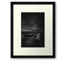 On the wrong side of the lake 5 Framed Print