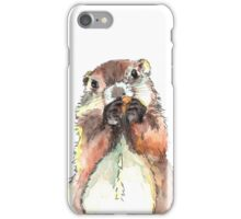 Dinky the Groundhog iPhone Case/Skin