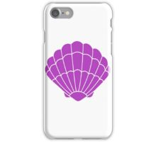Mermaid Shell Indigo iPhone Case/Skin