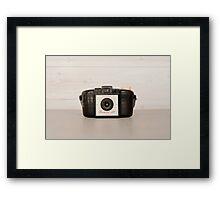 Vintage Brownie 127 Camera Framed Print
