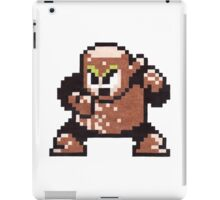 wood man iPad Case/Skin