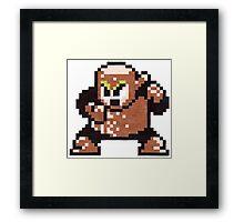 wood man Framed Print