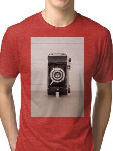 Vintage Kodak 620 camera Tri-blend T-Shirt