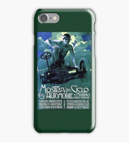 MOSTRA DEL CICLO; Vintage Auto Racing Print iPhone Case/Skin