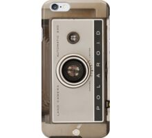 Vintage Polaroid Land Camera iPhone Case/Skin