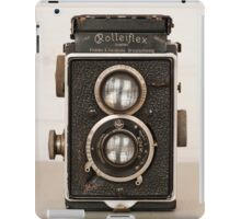 Vintage Rolleiflex Twin Lens camera iPad Case/Skin