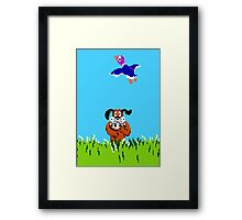 Duck Hunt Framed Print