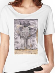 Elephant Mother's Love Women's Relaxed Fit T-Shirt