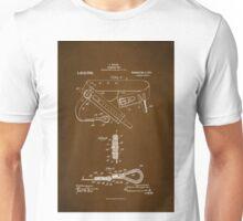 Firefighter Belt Patent 1911 Unisex T-Shirt