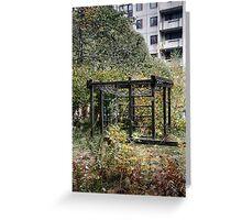 10.10.2014: Abandoned Playground Greeting Card